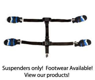 Snuggy Boots Orthotic Suspenders